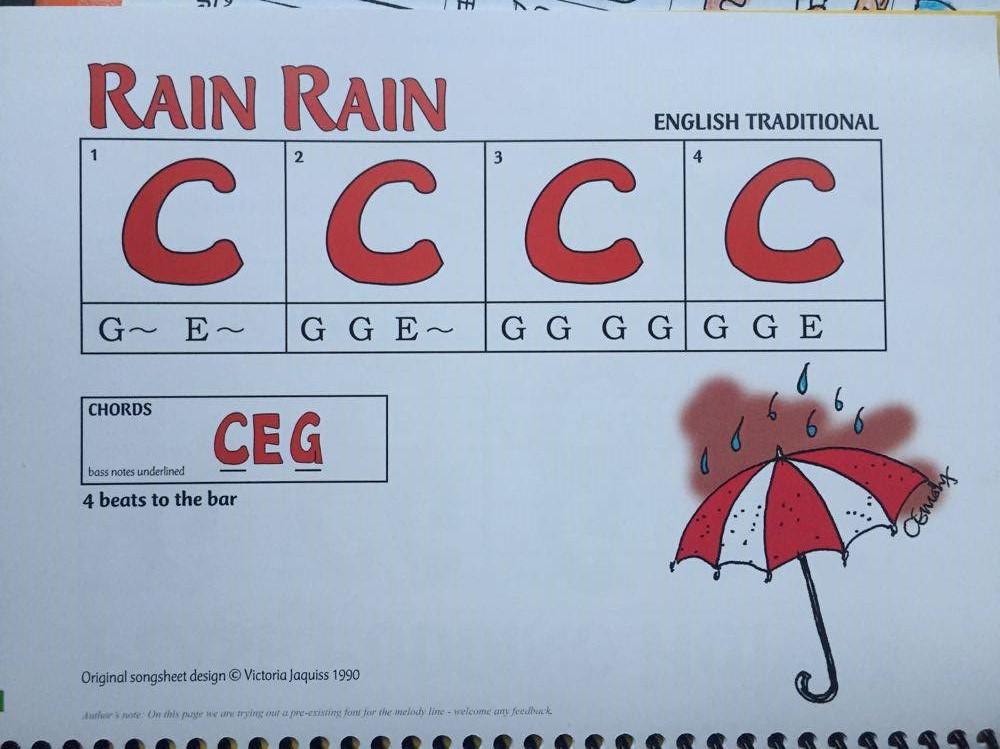Rain Rain from Easy Peasy