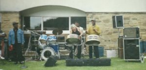The Caribbeans [ate 90s] at Ilkley Baths, allowed Victoria a tune
